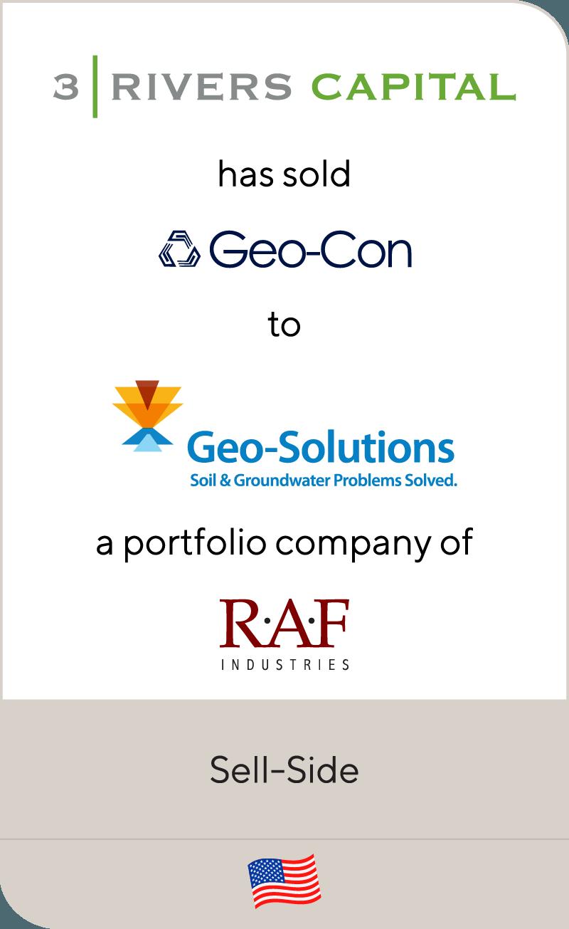 3 Rivers Capital Geo Con Geo Solutions RAF Industries 2012