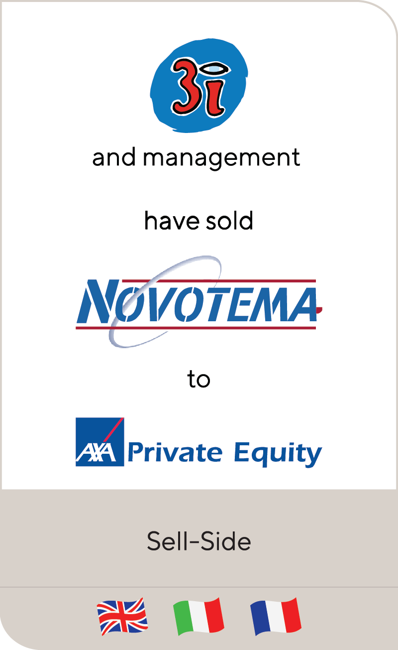 3i Novotema AXA Private Equity 2012