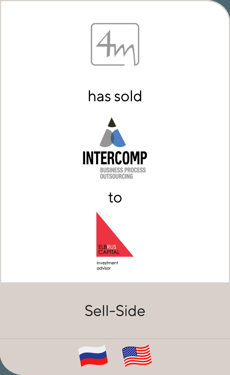 4M Investment Intercomp Elbrus Capital 20134M Investment Intercomp Elbrus Capital 2013