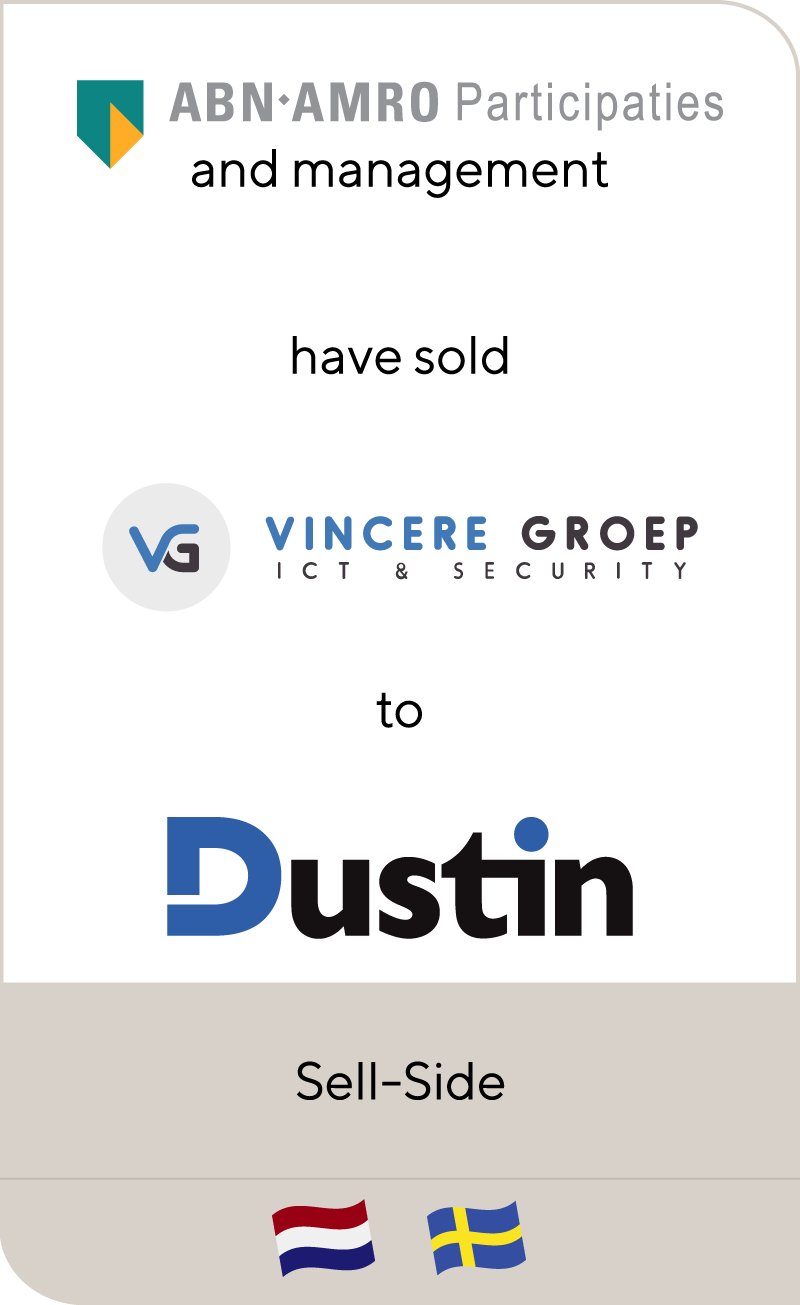 Vincere Groep has been sold to Dustin