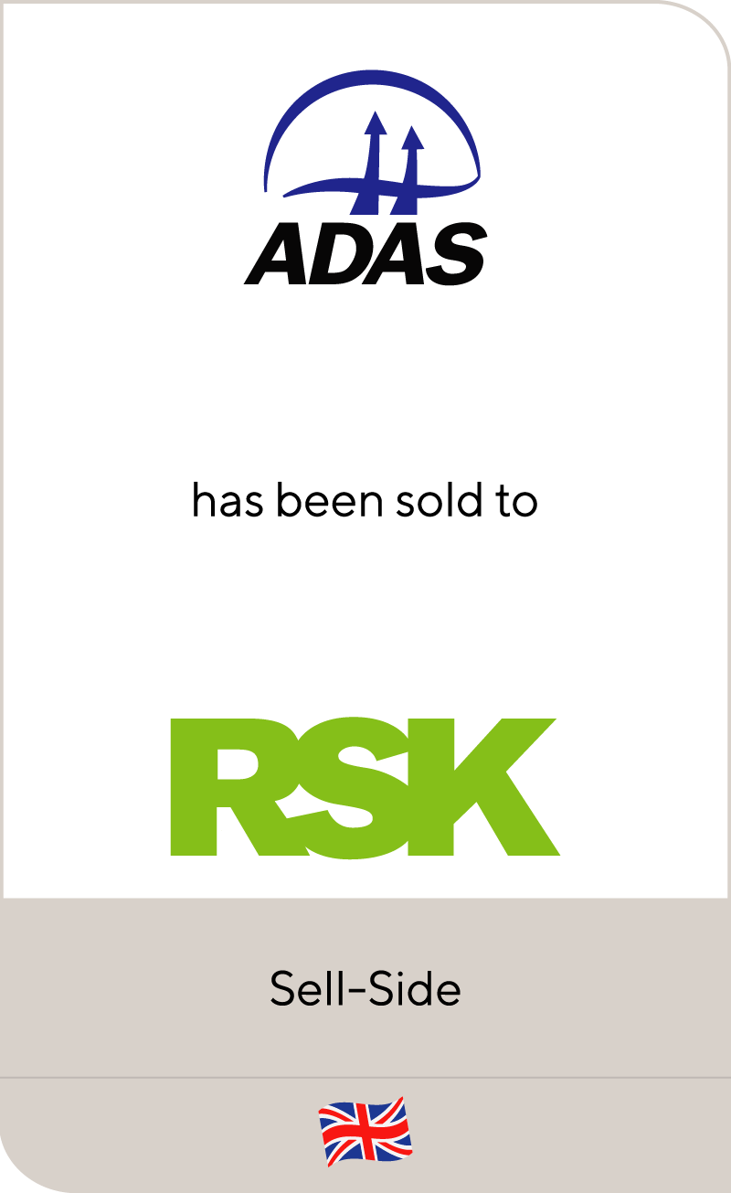 ADAS Group has been sold to RSK Group