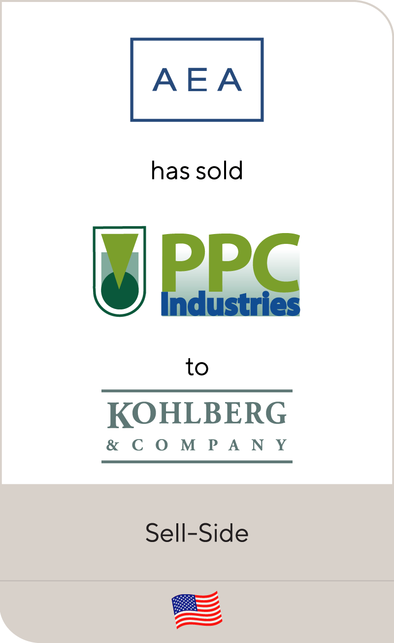 AEA Investors has sold PPC Industries to Kohlberg & Company