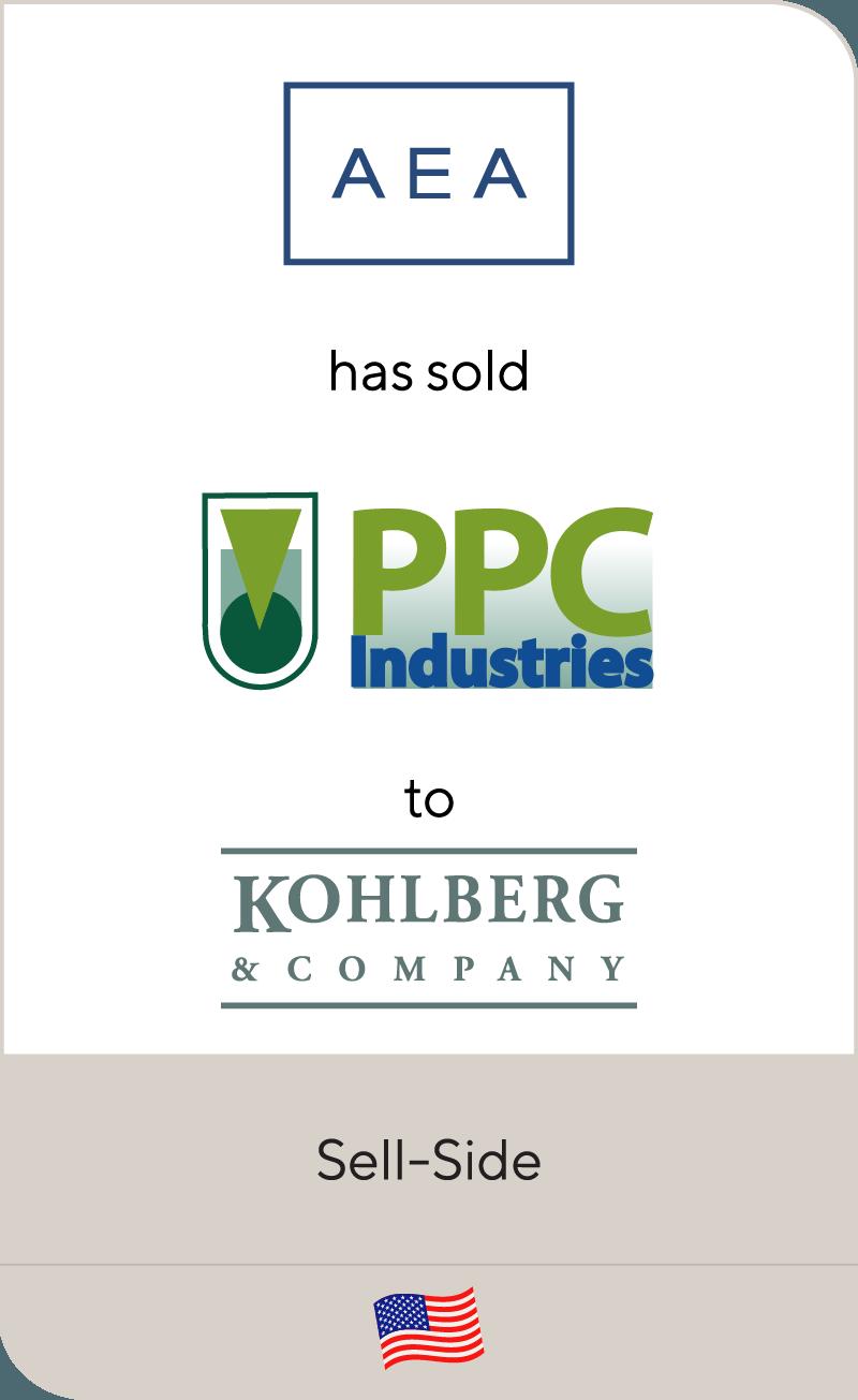 AEA Investors has sold PPC Industries to Kohlberg & Company