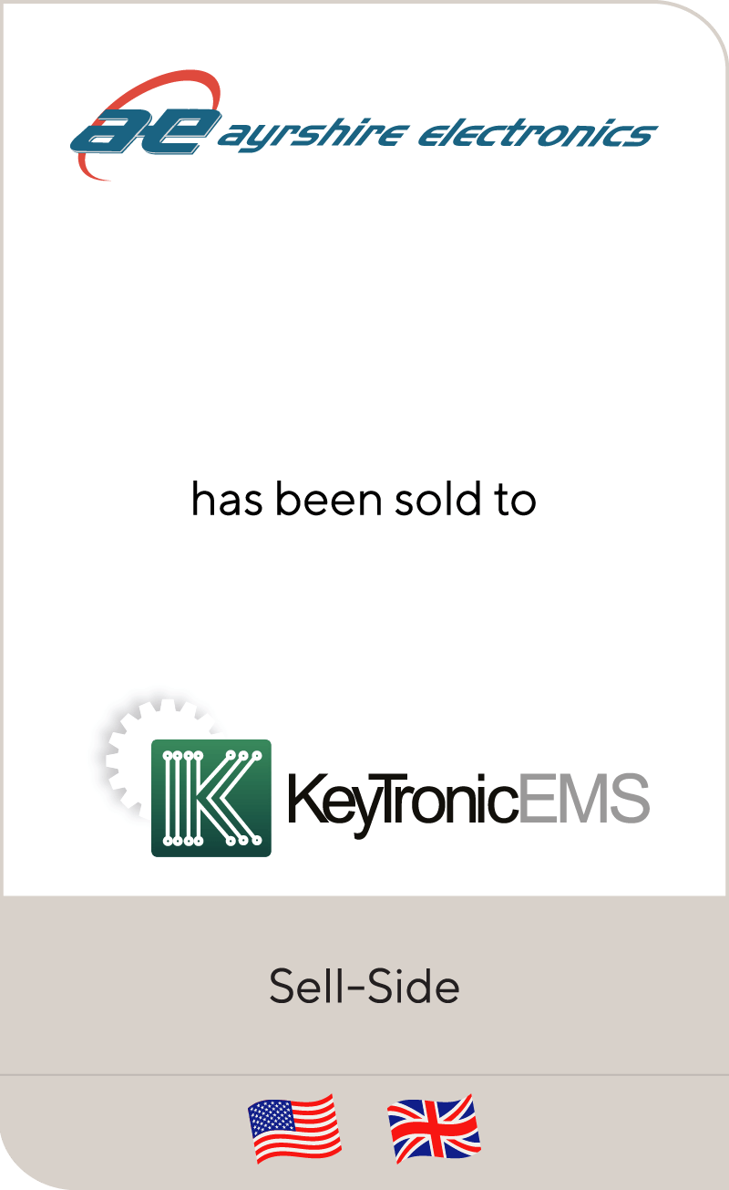 CDR Manufacturing has been sold to KeyTronic Corporation