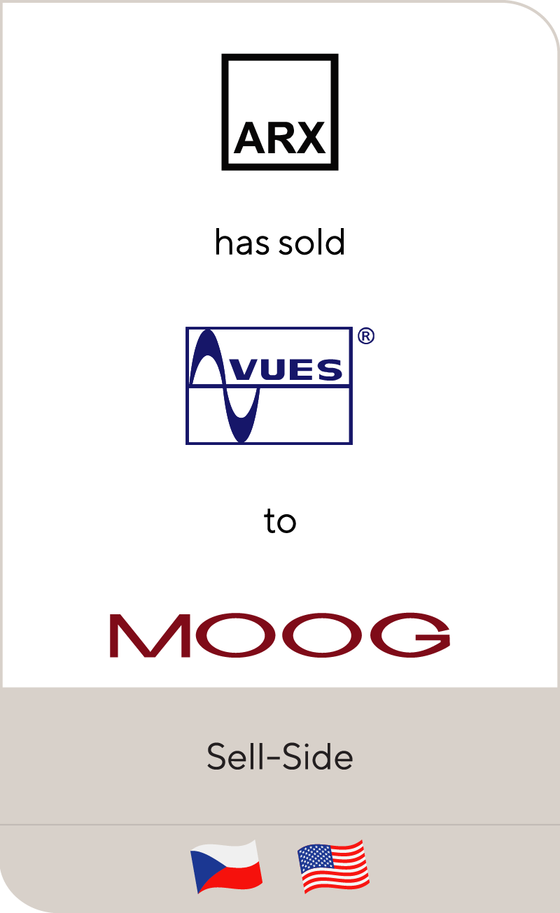 ARX has sold VUES Brno to Moog