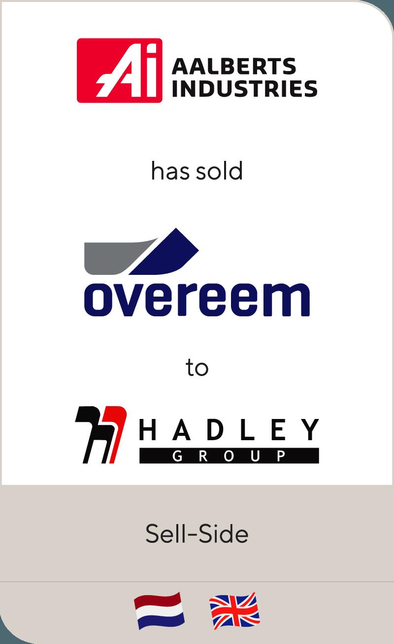 Aalberts Industries has been sold to Hadley Group