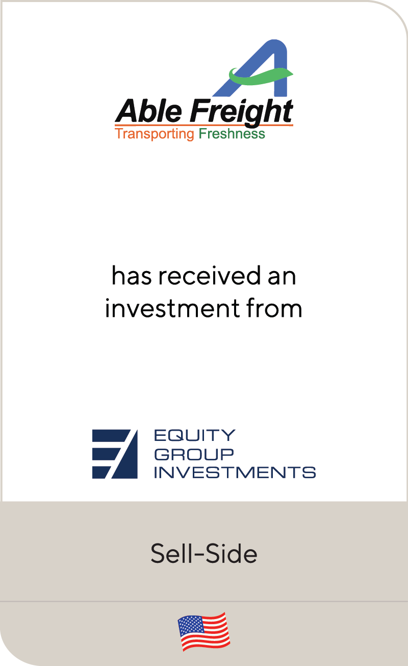Able Freight Equity Group Investments 2020