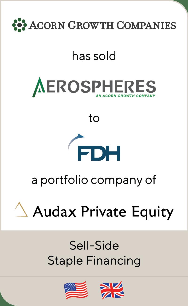 Acorn Growth Companies Aerospheres FDH Audax 2019