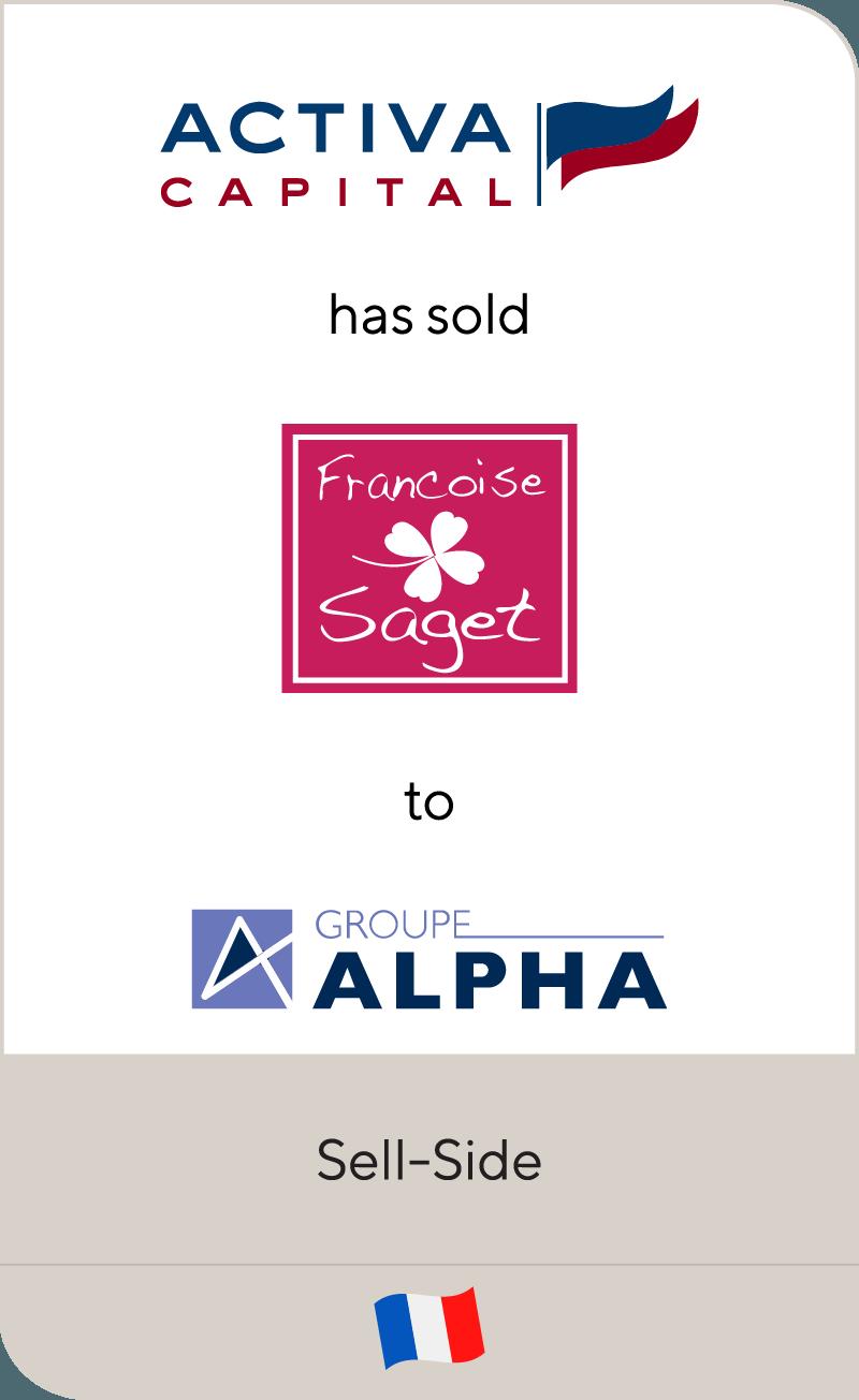 Activa Capital Francoise Saget Linvosges Groupe Alpha 2010