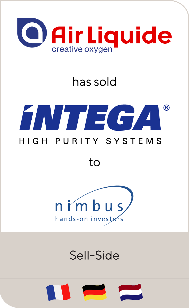 Intega has been sold to Nimbus