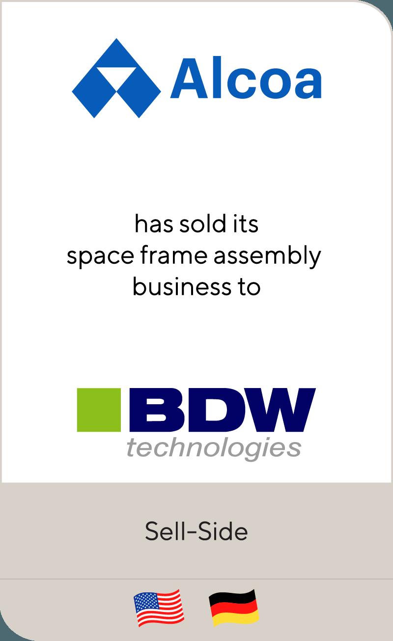 Alcoa BDW Technologies 2010
