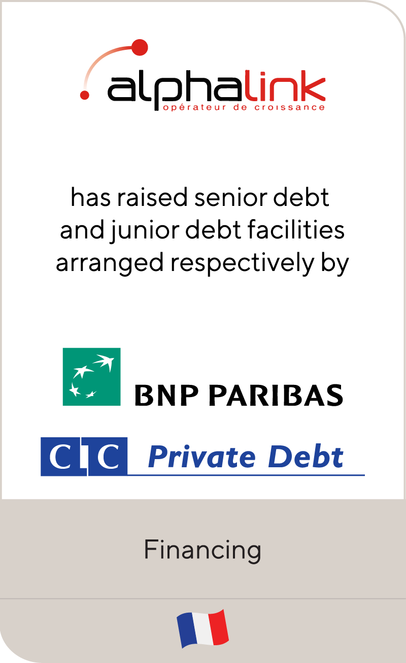 Alphalink BNP Paribas CIC Private Debt 2021