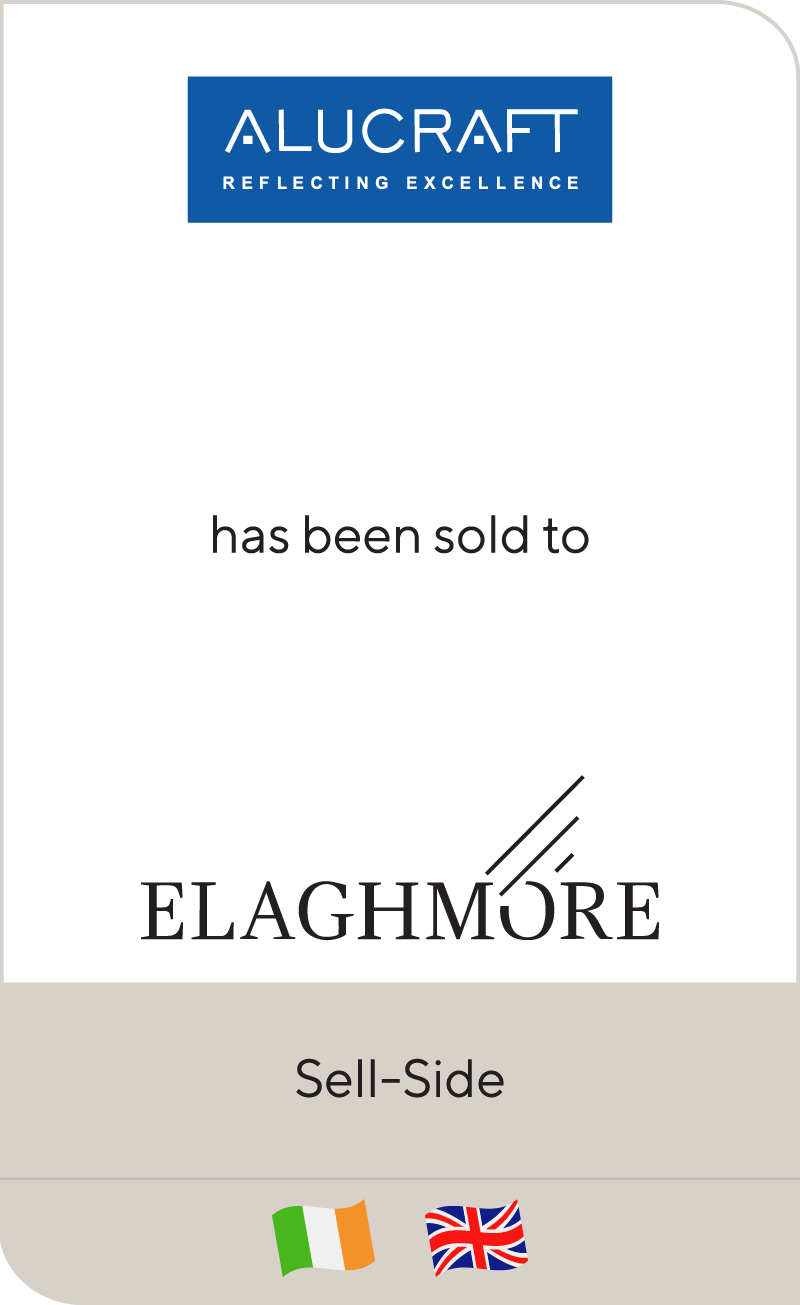 Alucraft has been sold to Elaghmore
