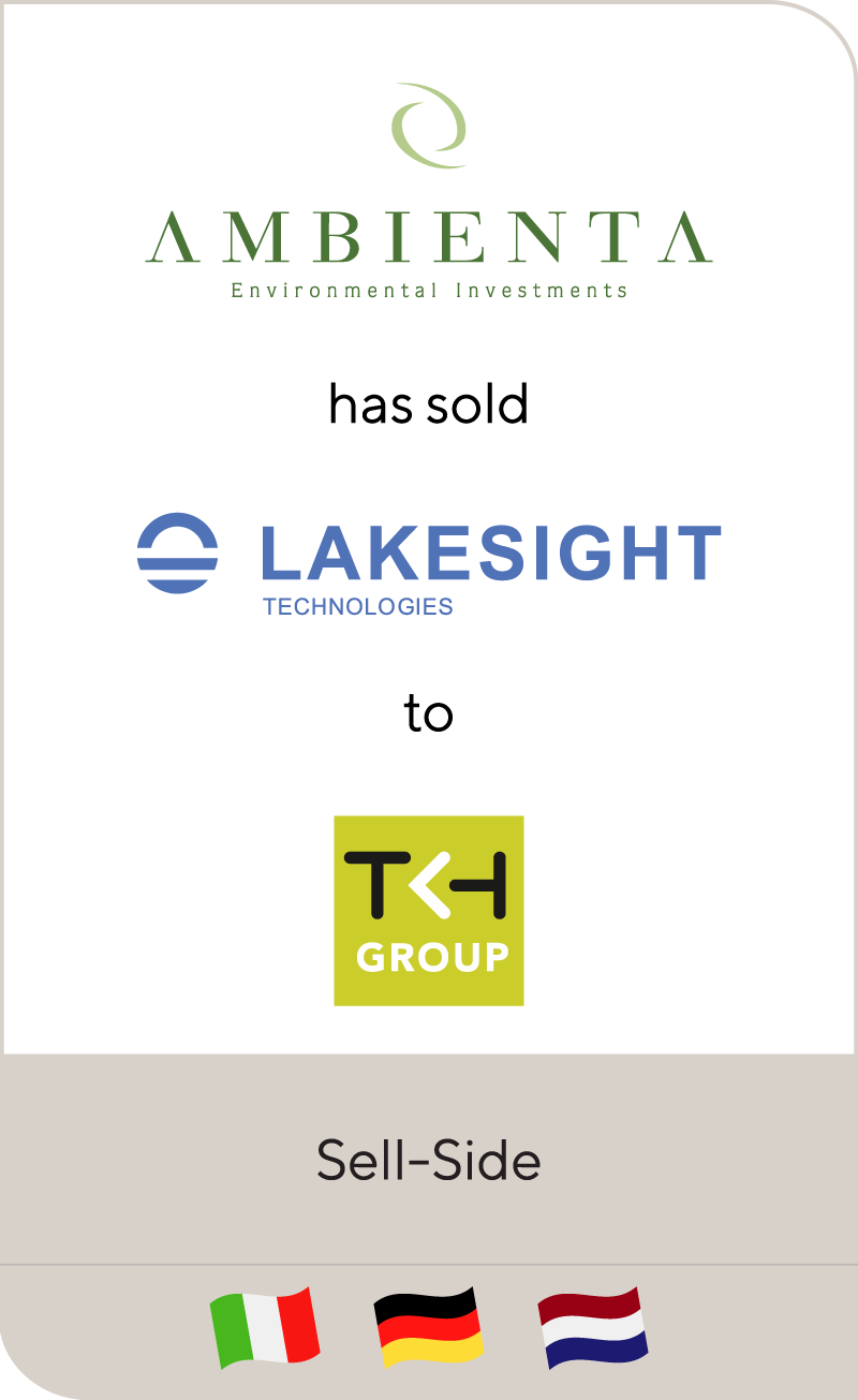 Ambienta Lakesight Technologies TKH Group 2018