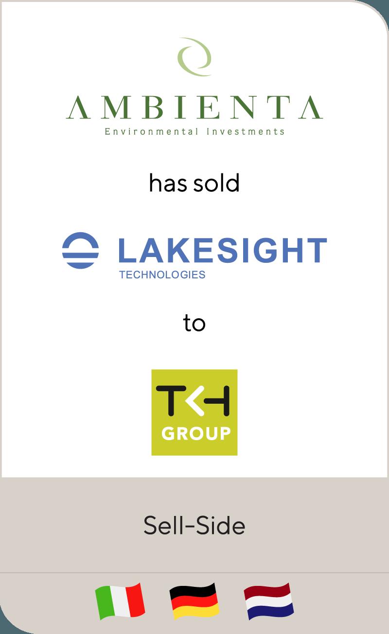 Ambienta Lakesight Technologies TKH Group 2018