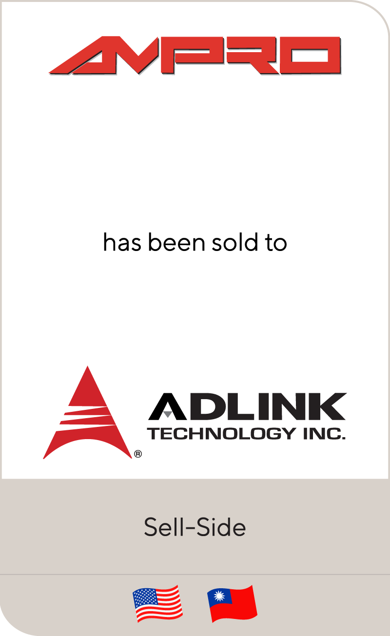 Ampro has been sold to Adlink Technology