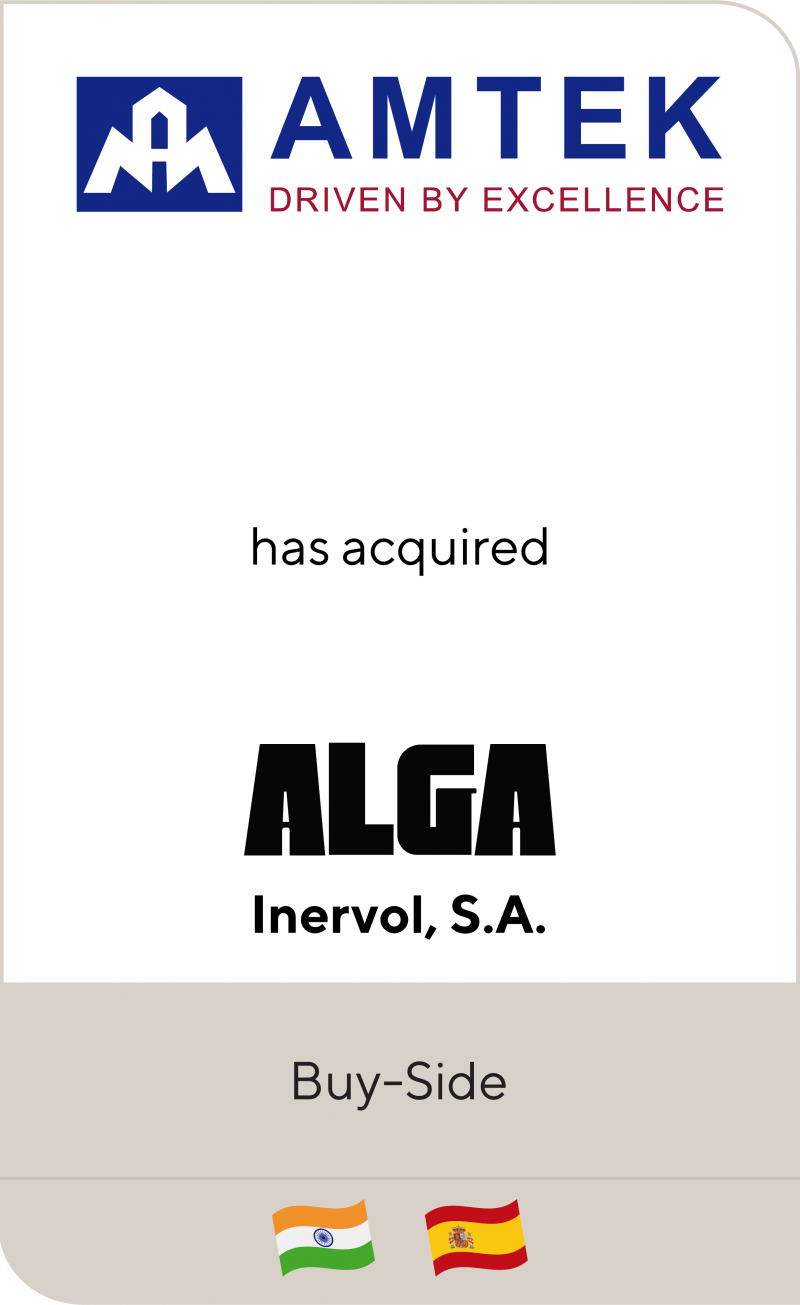 Amtek Alga Inervol 2016