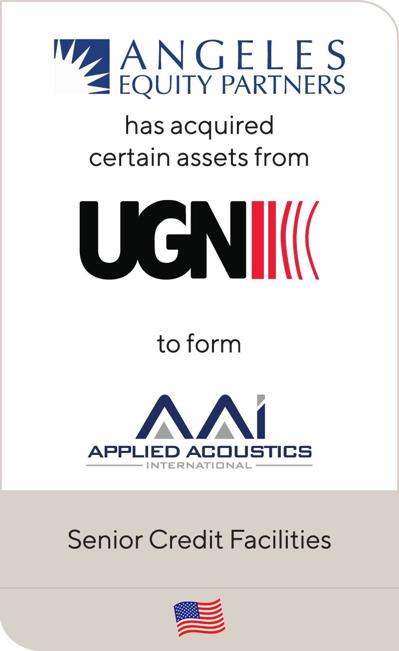 Angeles Equity Partners has acquired an automotive acoustic solutions business from UGN