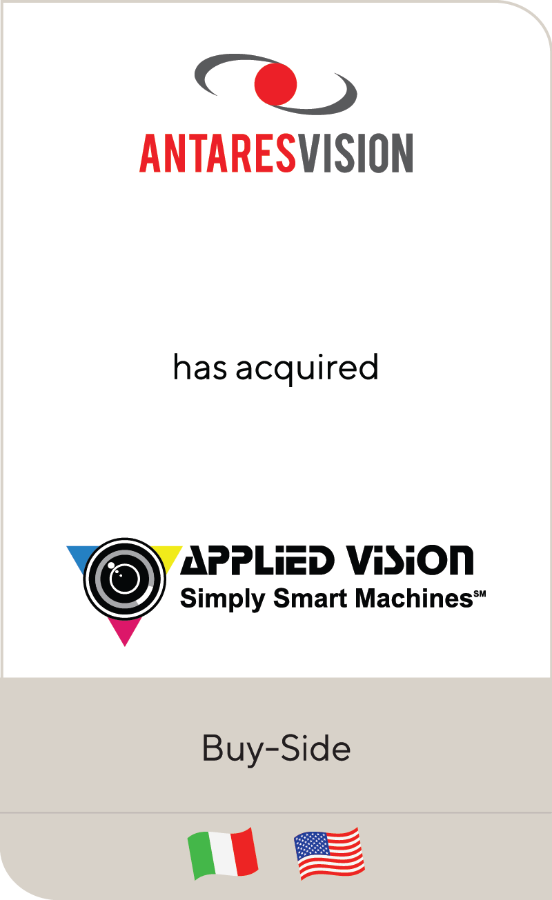 AntaresVision Applied Vision 2020