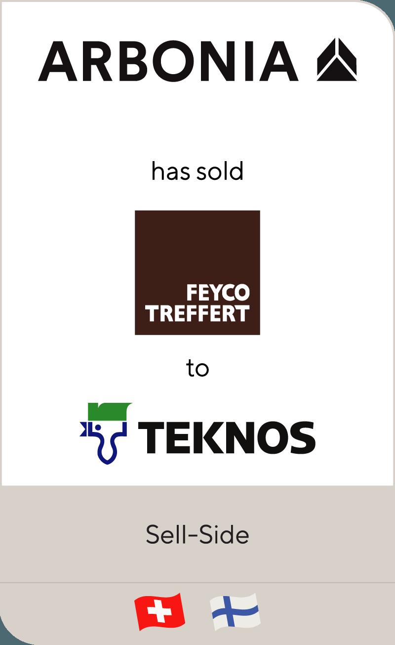 Swiss Arbonia has sold Feyco Treffert to Teknos Group