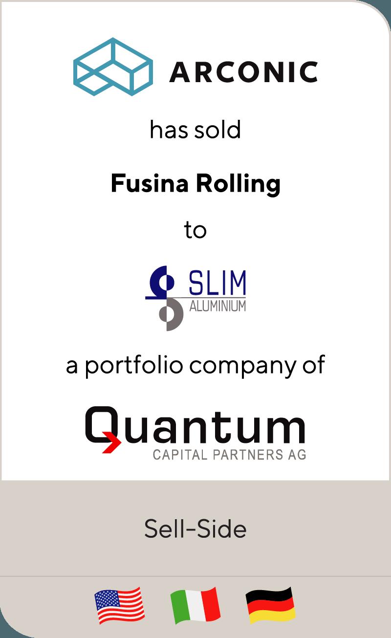 Arconic Fusina Slim Quantum 2017