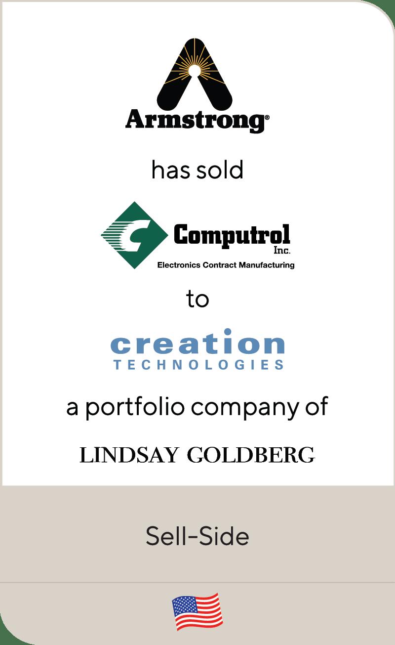 Armstrong International Computrol Creation Technologies Lindsay Goldberg 2021