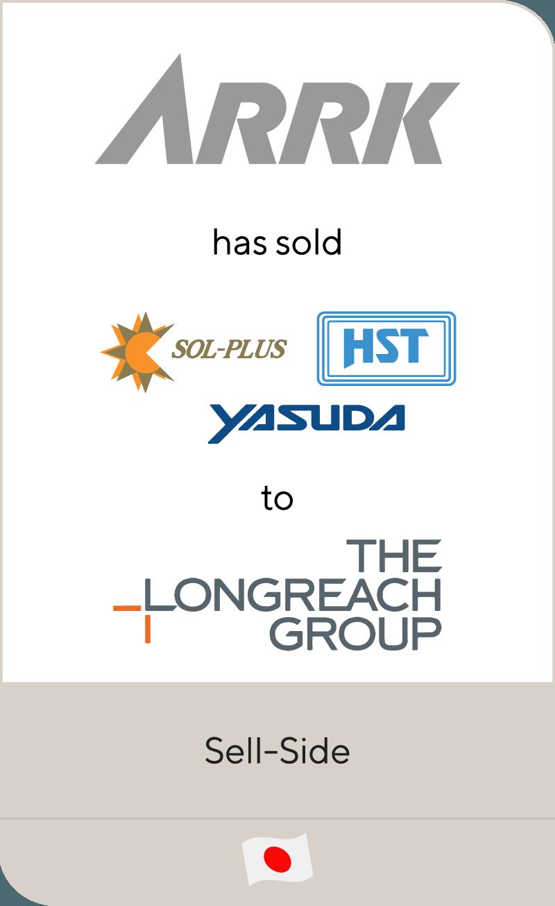 Arrk Sol Plus HST Yasuda Longreach Group 2013