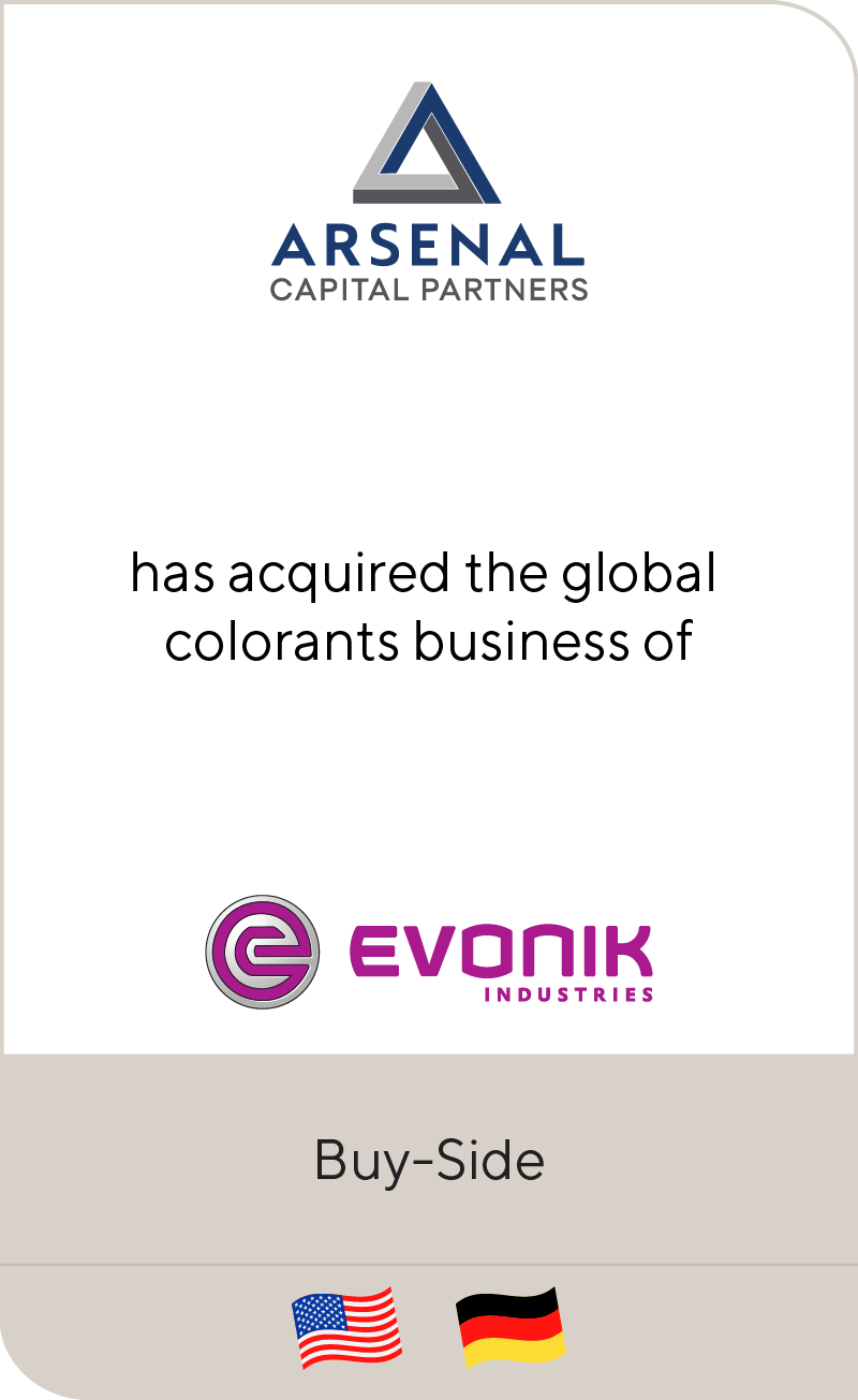 Arsenal Capital Partners Evonik Industries 2012