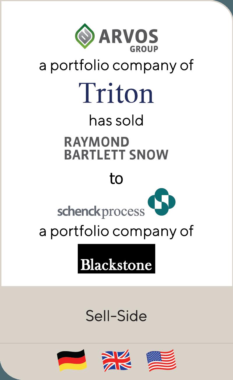 Arvos Triton Raymond Bartlett Snow Schenck Blackstone 2018