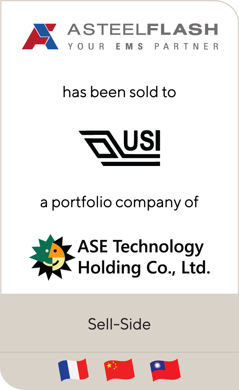 Asteelflash Universal Scientific Industrial ASE Technology Holdings 2020