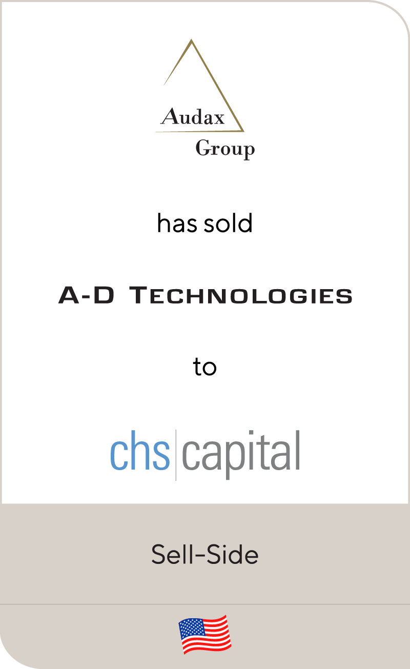 Audax Group A D Technologies CHS Capital 2012