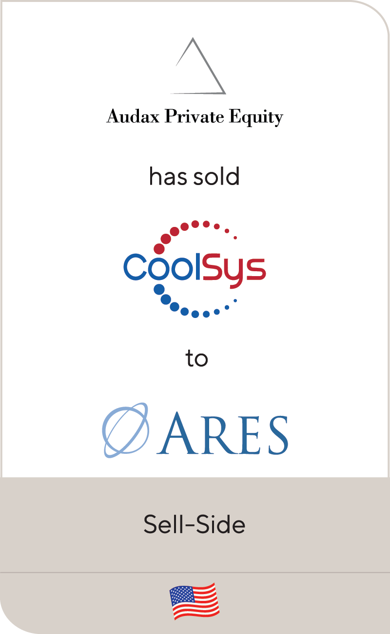 Audax PE CoolSys Ares Mgmt 2019