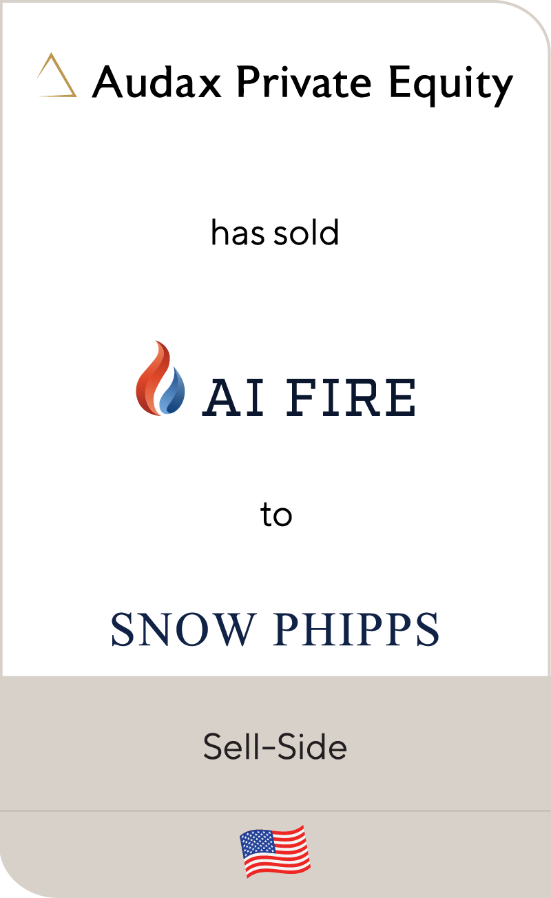 Audax Private Equity AI Fire Snow Phipps 2021