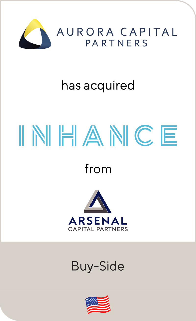Aurora has acquired Inhance from Arsenal