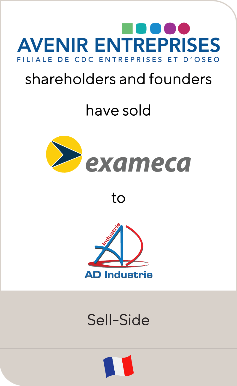 Avenir Entreprises Exameca AD Industrie Group 2011