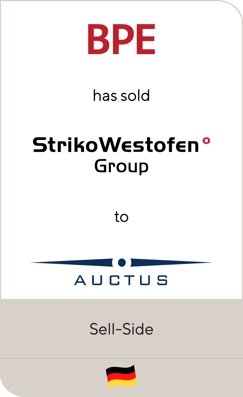 BPE StrikoWestofen Group Auctus 2013