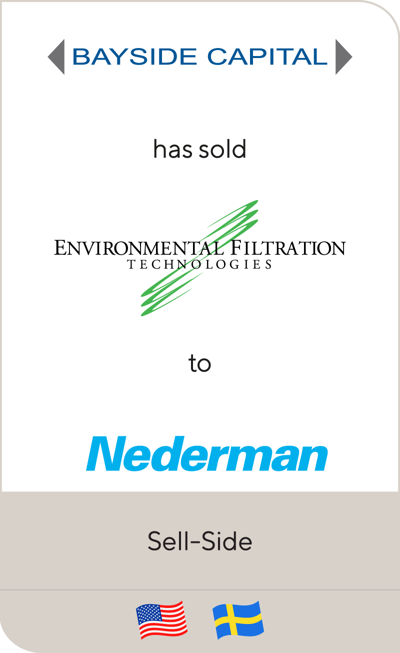 Bayside Capital Environmental Filtration Technologies Nederman 2012