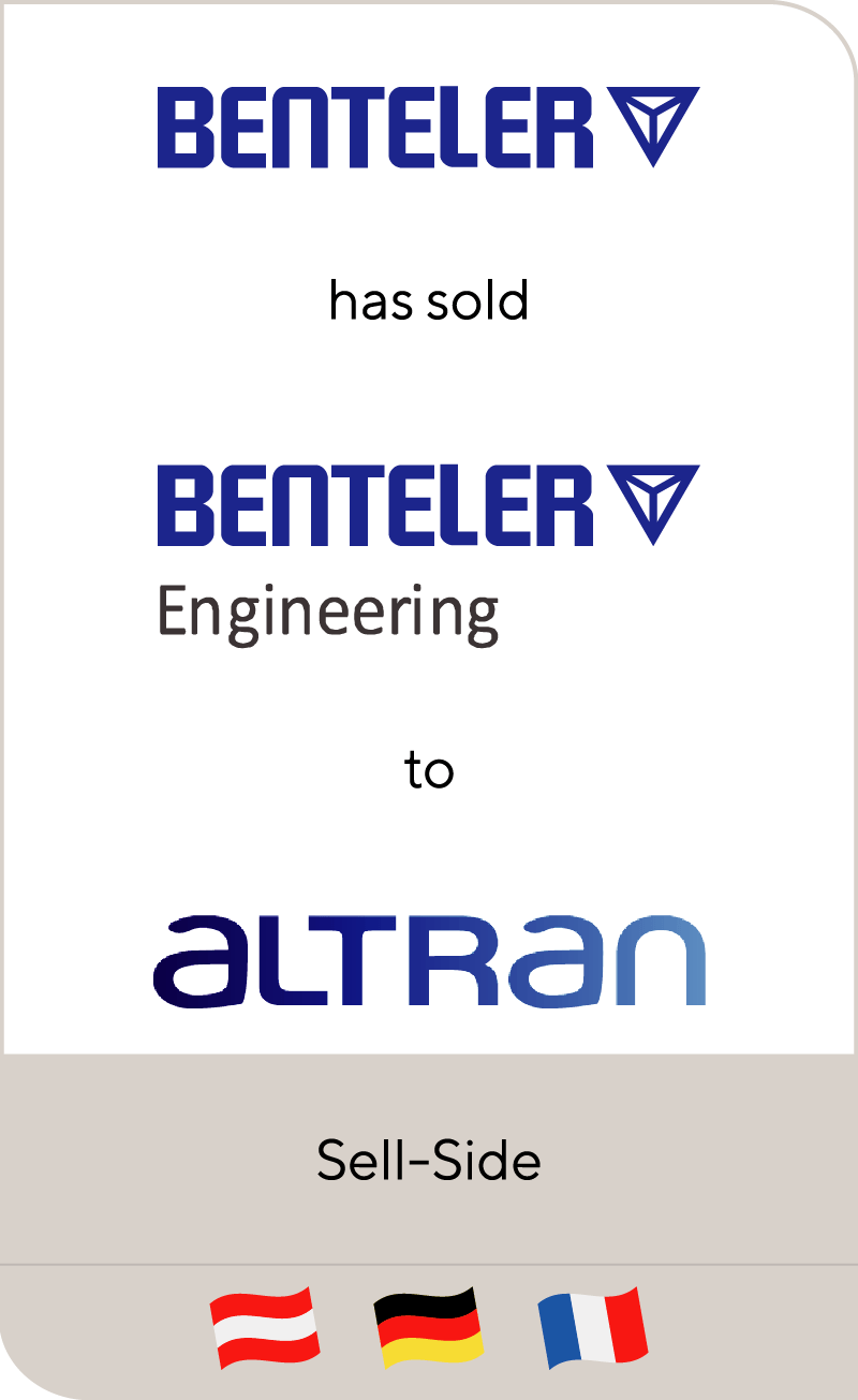 Benteler Automobiltechnik has been sold to Altran Technologies