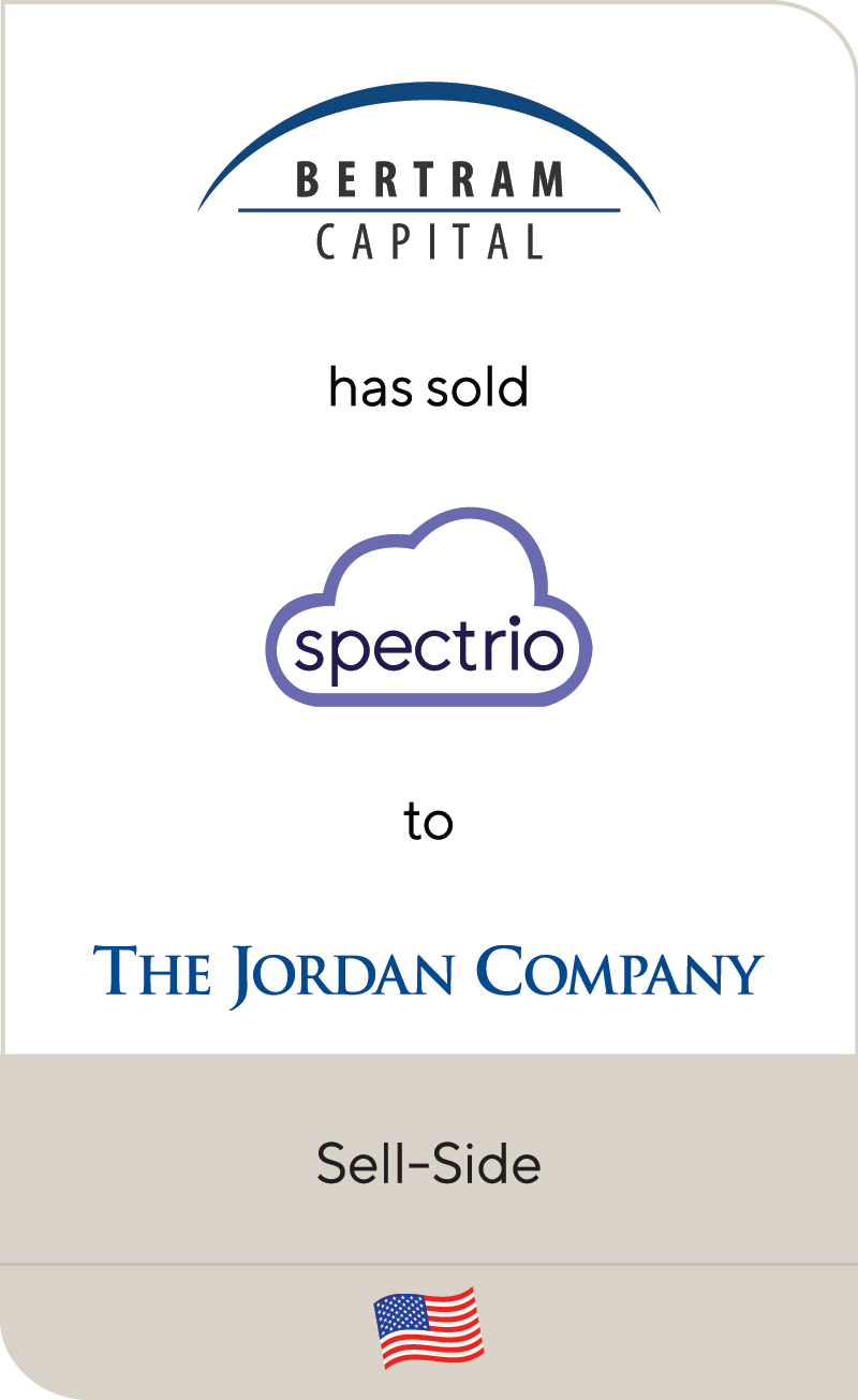 Bertram Capital Spectrio The Jordan Company 2020