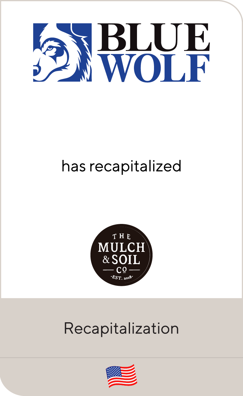 Blue Wolf Capital Partners has recapitalized BW Forestry