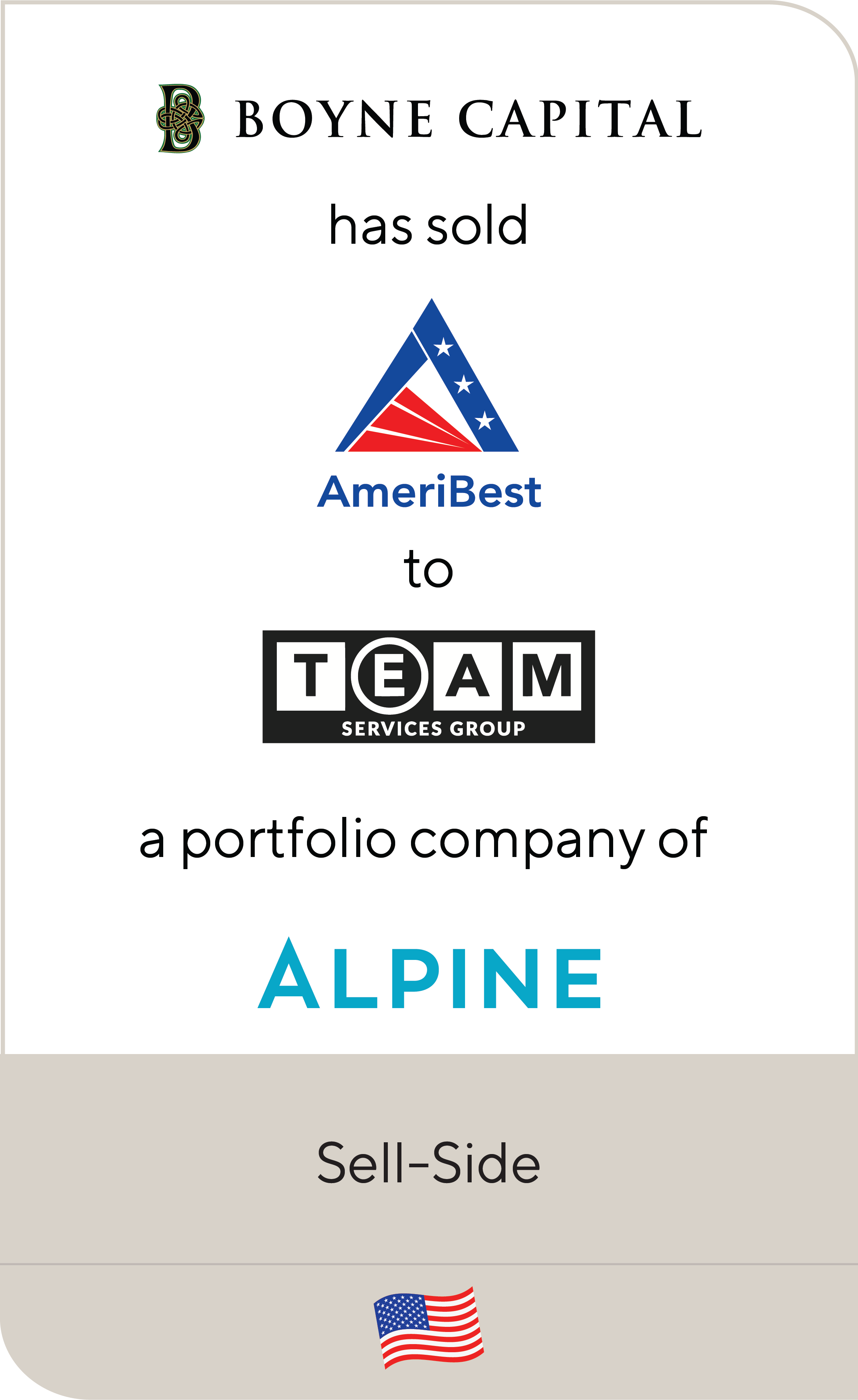 Boyne Capital AmeriBest Home Care Alpine 2019
