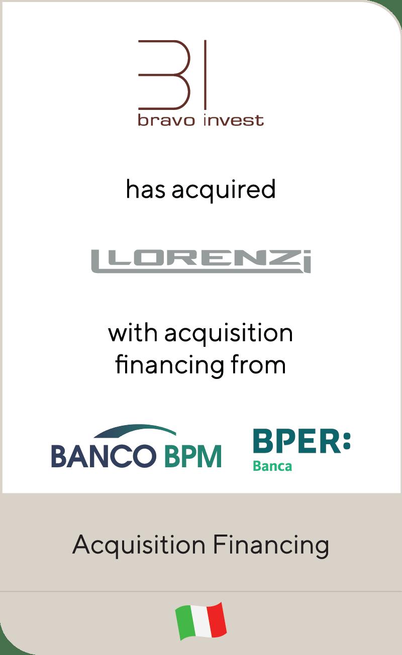 Bravo Invest Lorenzi Srl Banco BPM BPER Banca 2021