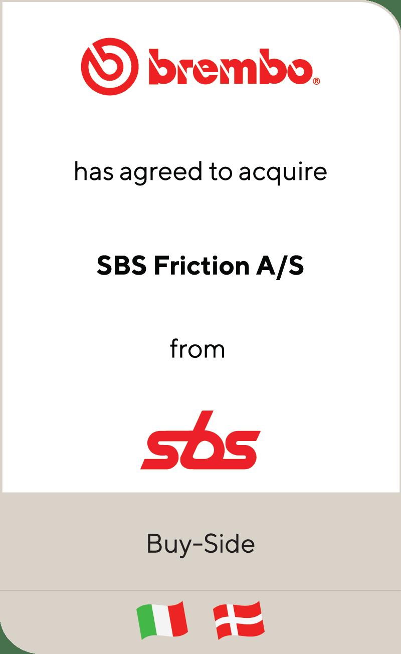 Brembo SBS Friction Scandinavian Brake Systems 2020