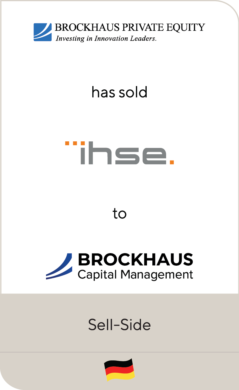Brockhaus Private IHSE Brockhaus Capital 2019