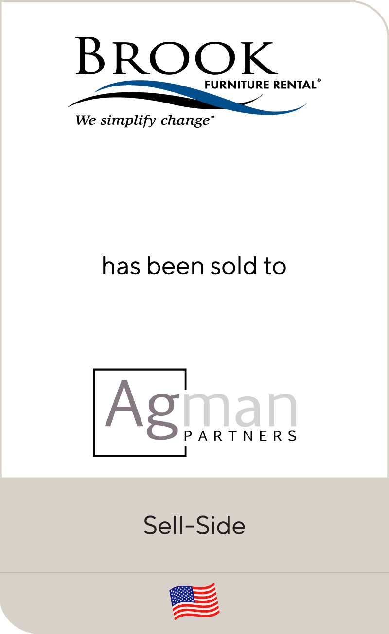 Brook Furniture Rental Has Been Sold To Agman Partners Lincoln