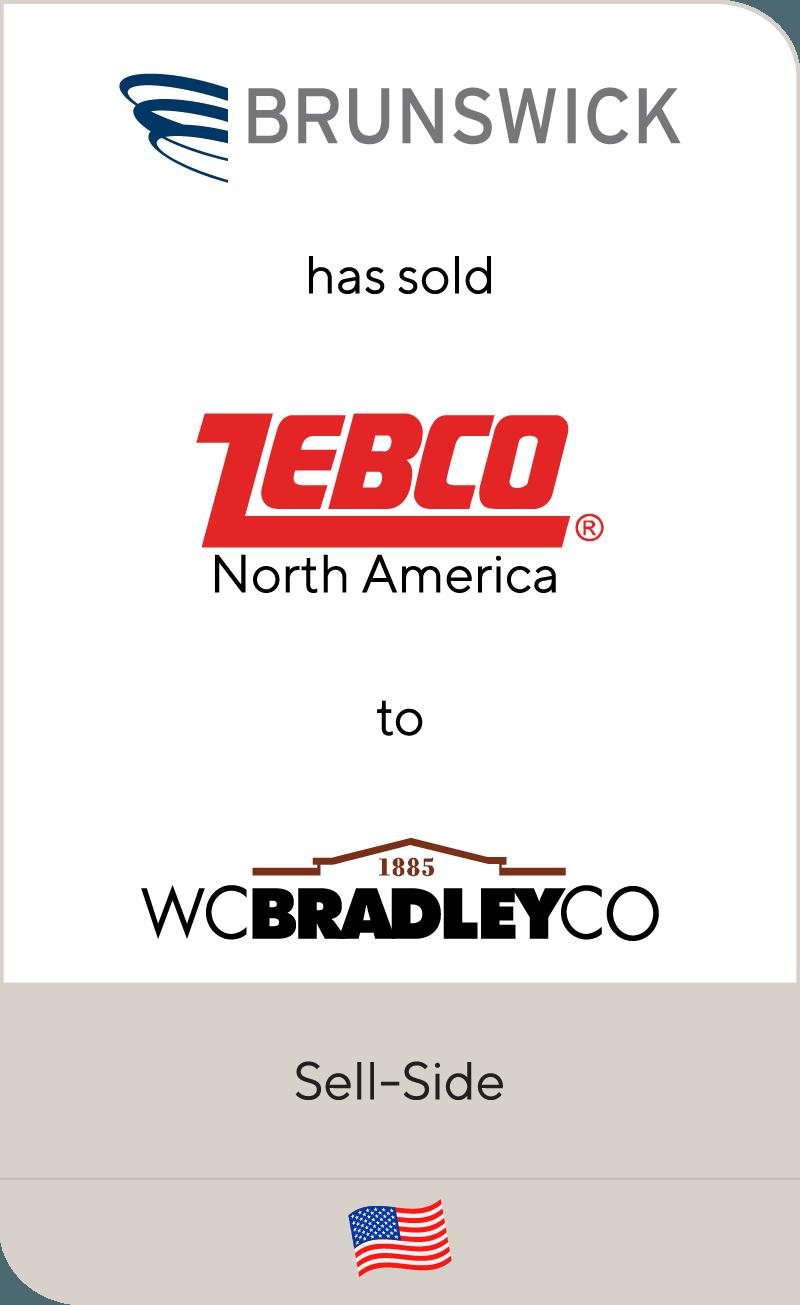 Brunswick has sold Zebco North America to W.C. Bradley Co.
