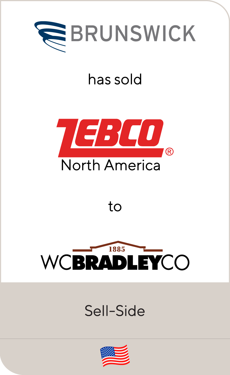 Brunswick has sold Zebco North America to W.C. Bradley Co.