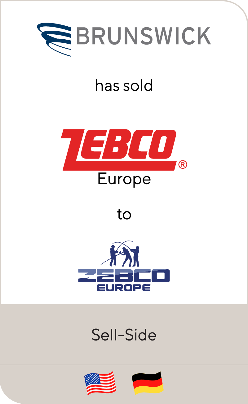 Brunswick Corporation has sold Zebco European operations to Zebco Sports Europe Ltd.