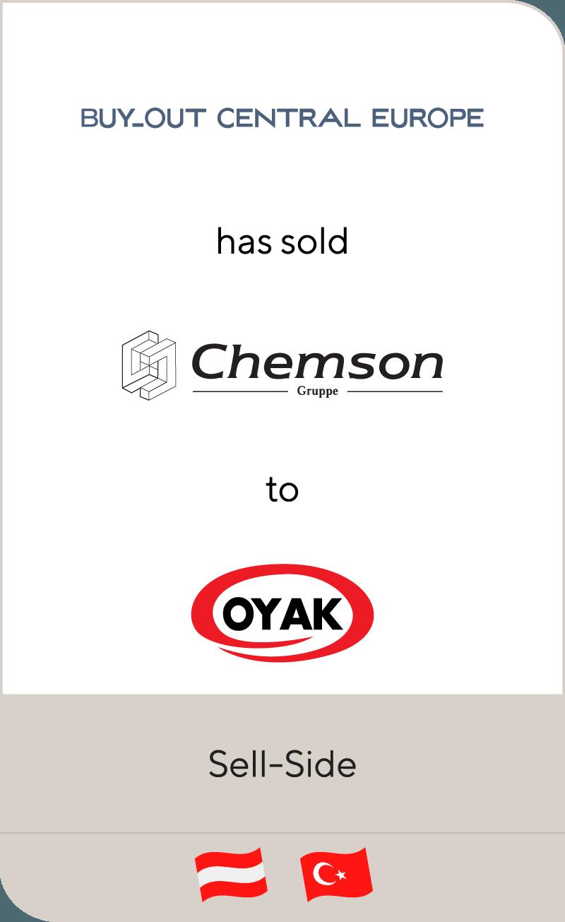 Buy-Out Central Europe II has sold Chemson Polymer-Additive to Ordu Yardimlasma Kurumu