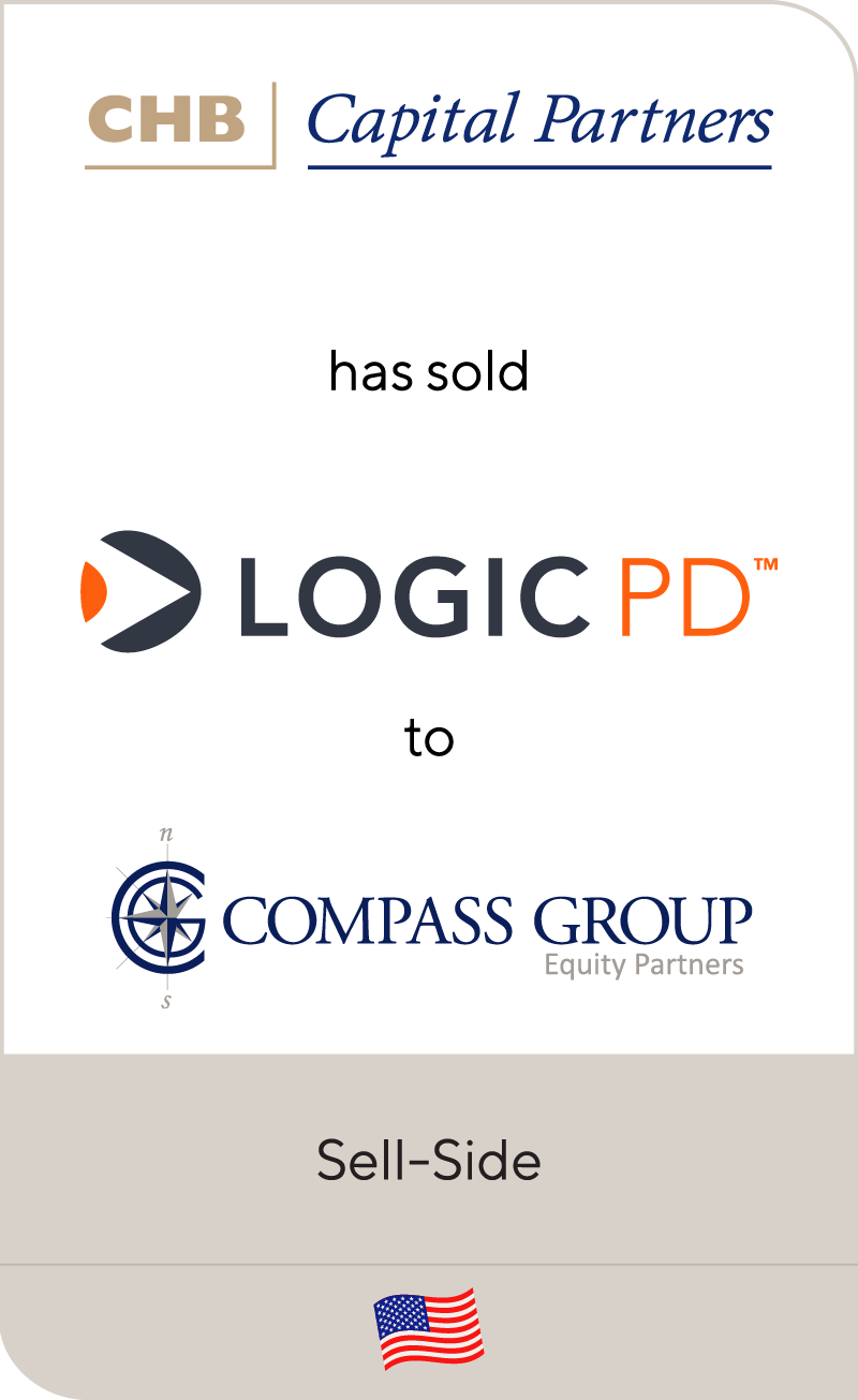 CHB Capital Partners has sold Logic PD to Compass Group Equity Partners